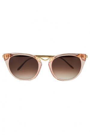 Солнцезащитные очки Hinky Thierry Lasry. Цвет: розовый