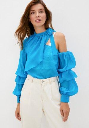 Блуза Lolita Shonidi. Цвет: голубой