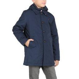Пальто KB0KB04936 темно-синий TOMMY HILFIGER