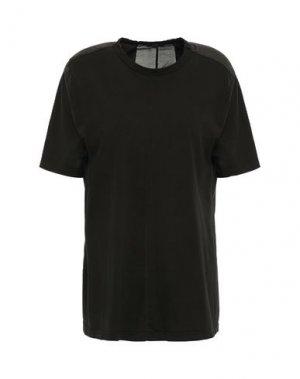 Футболка CLU. Цвет: черный