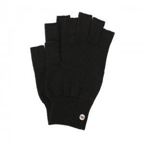 Шерстяные перчатки Rick Owens. Цвет: чёрный