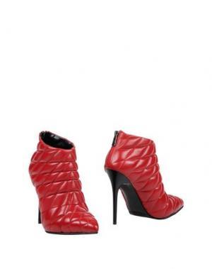 Полусапоги и высокие ботинки ALBANO. Цвет: красный