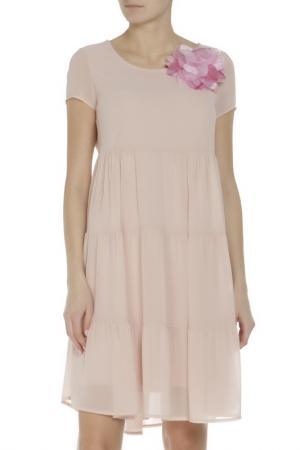 Платье Rinascimento. Цвет: бордовый