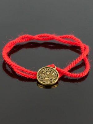 Браслет-оберег красная нить - скорпион бп9949 Бусики-Колечки