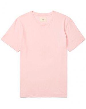 Футболка FOLK. Цвет: розовый
