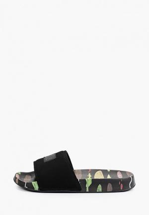 Сланцы DC Shoes BOBS SLIDE M SNDL BK5. Цвет: черный