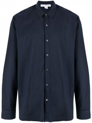 Рубашка с длинными рукавами James Perse. Цвет: синий