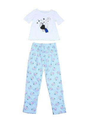Пижама Tenerezza. Цвет: белый