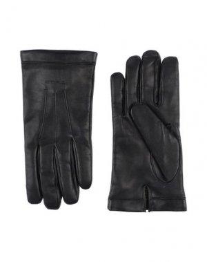 Перчатки ETRO. Цвет: черный