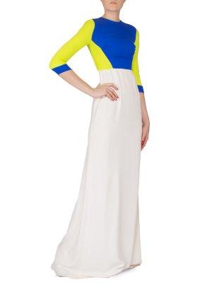 Платье ANTONIO BERARDI. Цвет: разноцветный