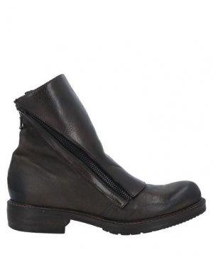Полусапоги и высокие ботинки JP/DAVID. Цвет: свинцово-серый