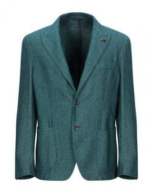 Пиджак REPORTER. Цвет: изумрудно-зеленый