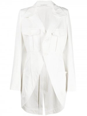 Ys джинсовая куртка Y's. Цвет: белый