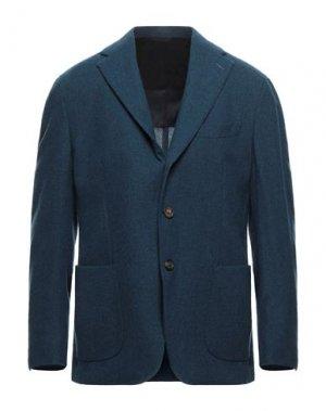 Пиджак DOPPIAA. Цвет: пастельно-синий