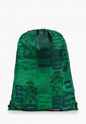 Мешок LEGO. Цвет: зеленый