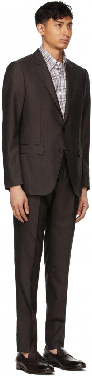 Brown #UseExisting Drop 8 Suit Ermenegildo Zegna. Цвет: 916616 brow