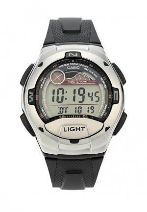 Часы Casio Collection W-753-1A. Цвет: черный