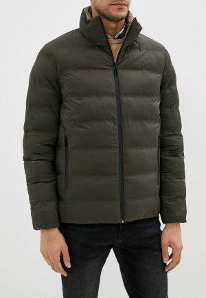 Куртка утепленная Adolfo Dominguez. Цвет: разноцветный