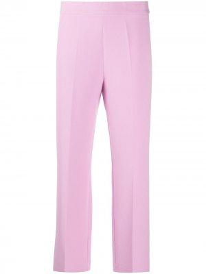 Укороченные брюки прямого кроя Altea. Цвет: розовый