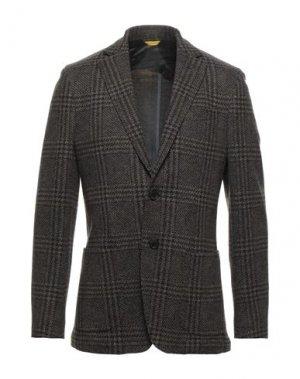 Пиджак CANALI. Цвет: темно-коричневый