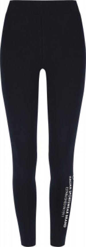 Легинсы женские , размер 48 FILA. Цвет: синий