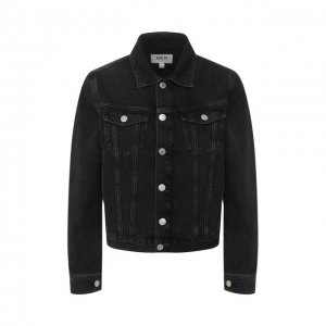 Джинсовая куртка Agolde. Цвет: серый
