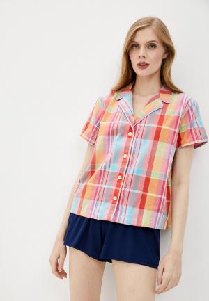 Рубашка домашняя Gap. Цвет: разноцветный