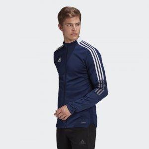 Олимпийка Tiro 21 Performance adidas. Цвет: синий