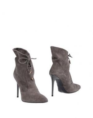 Полусапоги и высокие ботинки ANNARITA N. Цвет: серый