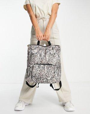 Рюкзак с принтом Perry-Multi Fiorelli