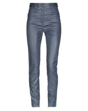 Повседневные брюки JITROIS. Цвет: темно-синий