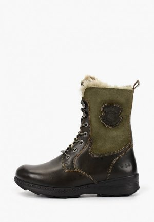 Ботинки Dockers by Gerli. Цвет: хаки