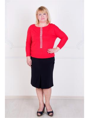 Кофточка Lika Dress. Цвет: красный