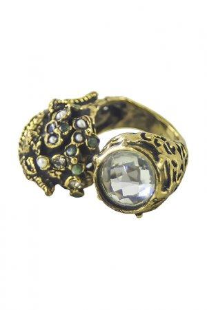 Кольцо ALCOZER. Цвет: золотой, желтый