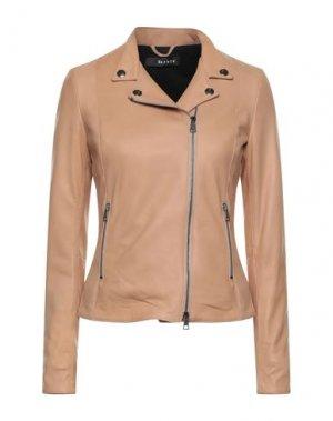 Куртка DACUTE. Цвет: бежевый
