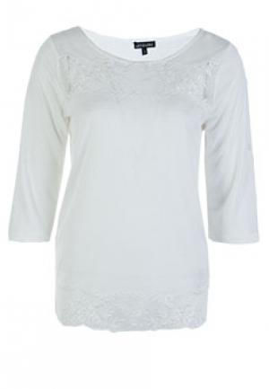 Блуза LEO GUY. Цвет: белый