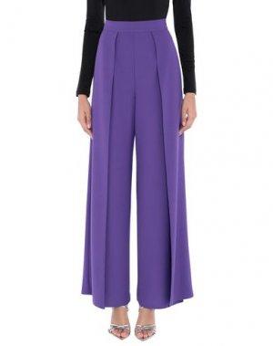 Повседневные брюки CASTING. Цвет: фиолетовый