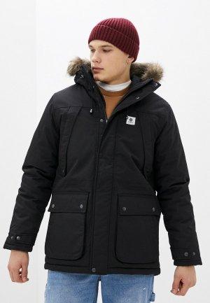 Куртка утепленная Element FARGO. Цвет: черный