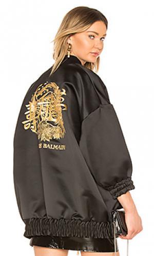 Куртка бомбер Pierre Balmain. Цвет: черный