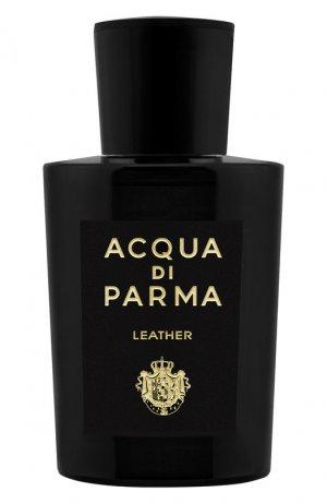 Парфюмерная вода Leather Acqua di Parma. Цвет: бесцветный