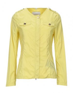 Куртка DEKKER. Цвет: желтый