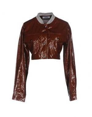 Куртка MARIOS. Цвет: коричневый