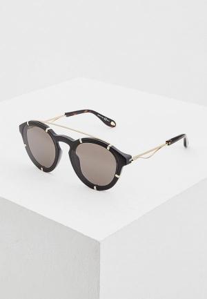 Очки солнцезащитные Givenchy GI007DMAYEI2. Цвет: черный