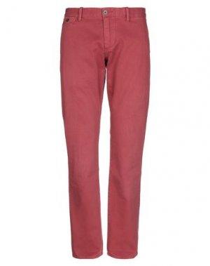 Повседневные брюки DOCKERS. Цвет: кирпично-красный