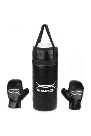 Набор для бокса X-Match. Цвет: черный