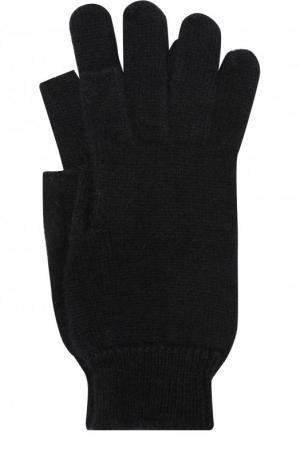 Шерстяные перчатки Rick Owens. Цвет: черный