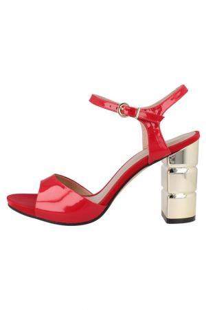 Босоножки EL Dantes. Цвет: красный