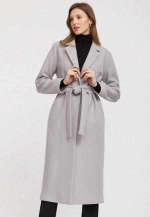 Пальто Charuel. Цвет: серый