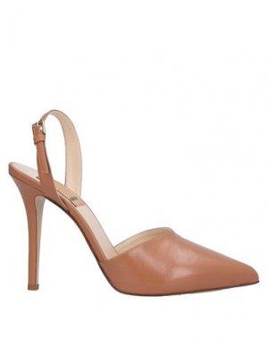 Туфли KALLISTÈ. Цвет: светло-коричневый