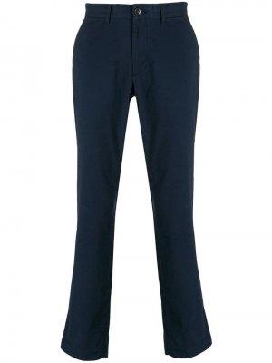 Классические брюки чинос Michael Kors. Цвет: синий